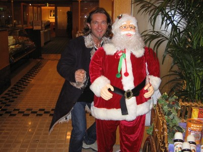 Geoff & Mr Claus